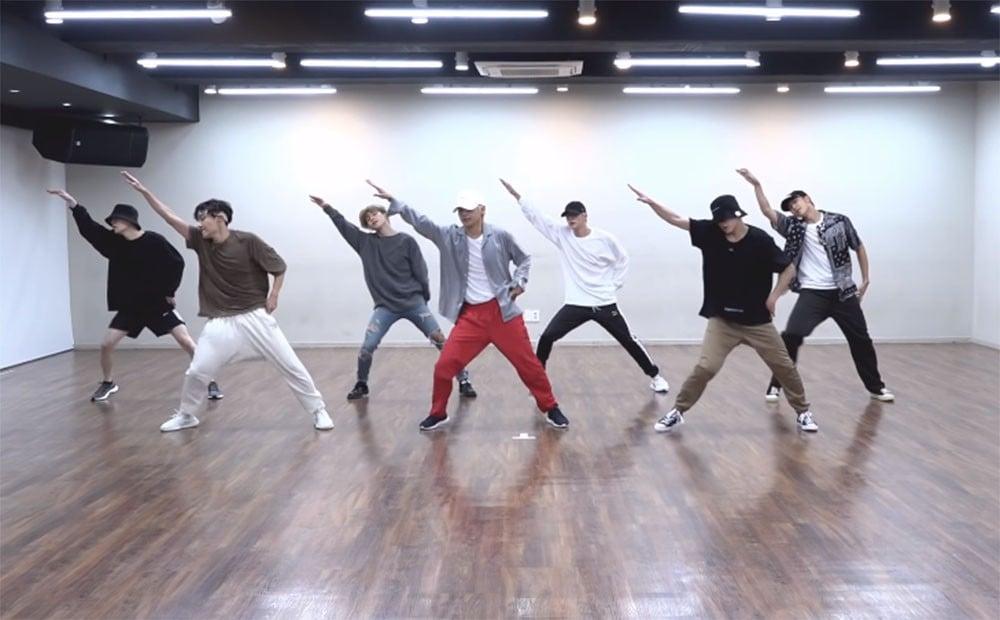 BTS show off their dynamic choreography in 'Idol' dance