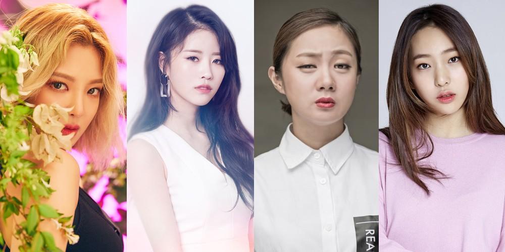 Hyoyeon, (Mijoo) Lee Mi Joo, Park Na Rae