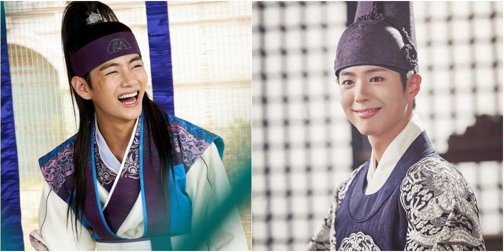 V, V, Park Bo Gum, Kang Daniel