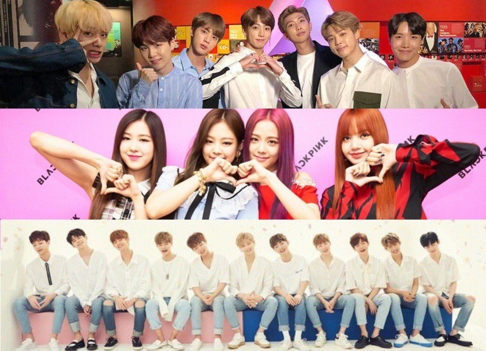 (Bangtan Boys) BTS, BLACKPINK, Wanna One