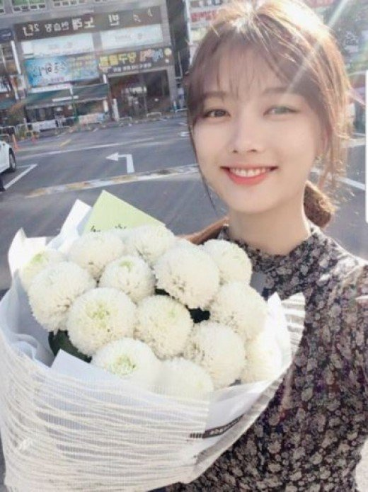 Kim Yoo Jung gives new update on her health and drama