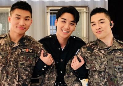 Big Bang, Taeyang, Daesung, Seungri