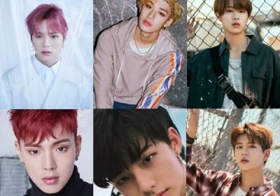 MONSTA X, Shownu, Minhyuk, HyunJin, Golden Child, Stray Kids, Bang Chan, HyunJin