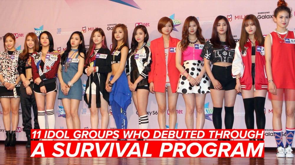 VIXX, Seventeen, winner, iKON, MONSTA X, TWICE, Pentagon, BOYS24, SF9, Momoland, Wanna One