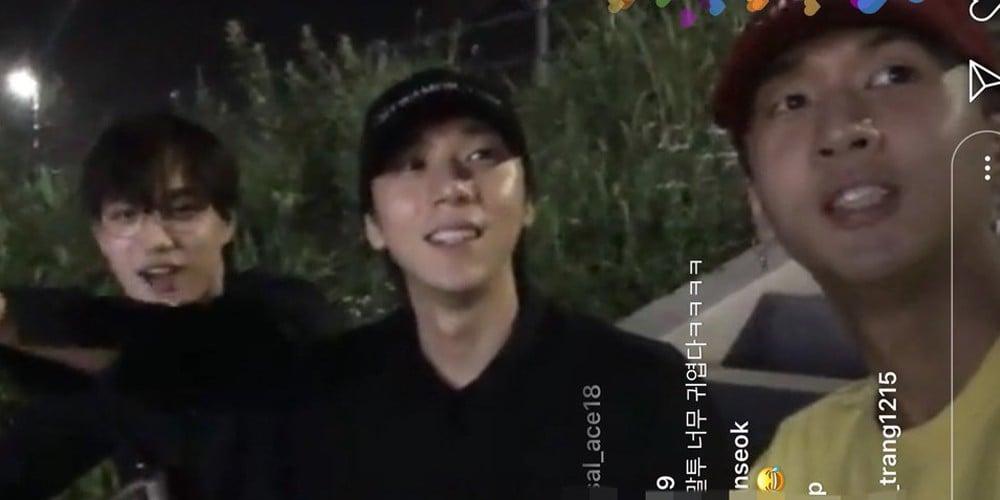 Kai,Ravi,timoteo,ha-sung-woon
