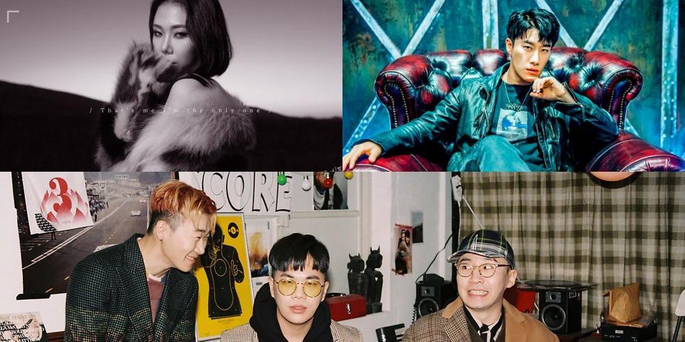 San E, Dok2, Rhythm Power, Cheetah, BewhY