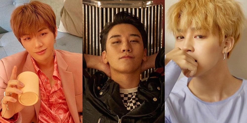 Jimin, Seungri, Kang Daniel