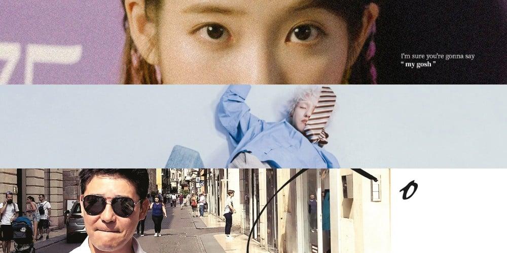 IU, Vibe, Roy Kim, Zion.T, Lim Chang Jung, PALOALTO, LOCO, Seulgi, iKON, Yang Da Il