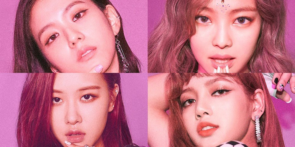 Black Pink sign with Interscope Records of Universal Music