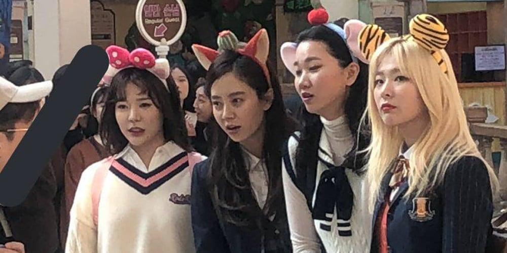 Sunny, Song Ji Hyo, Seulgi, Jang Yoon Joo