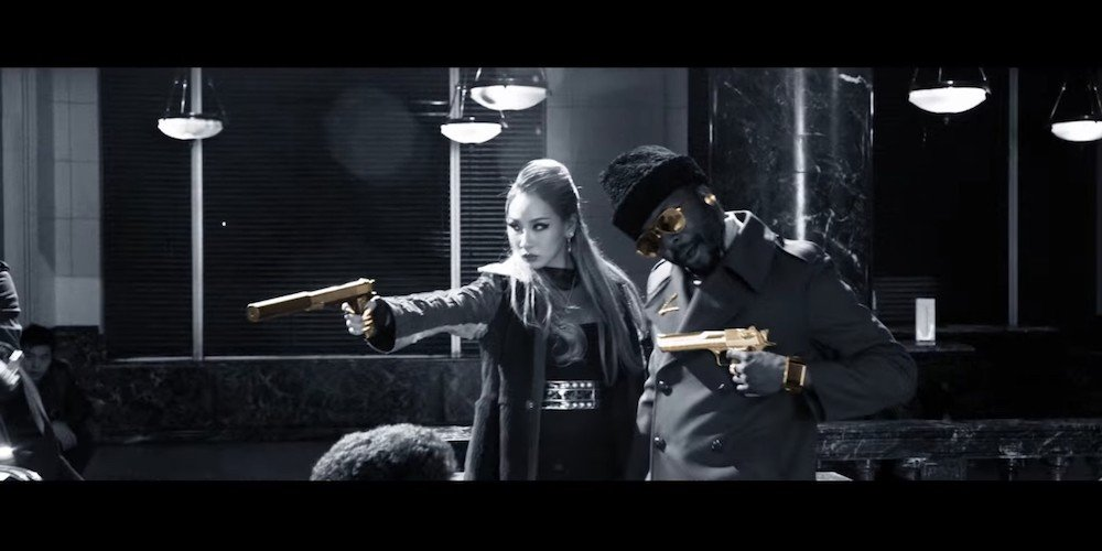 Imagini pentru Black Eyed Peas Dopeness MV
