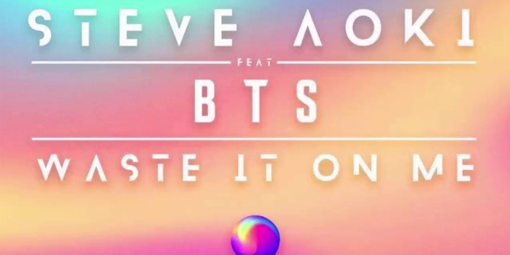 Steve Aoki x BTS's 'Waste It On Me', BTS's first ever all