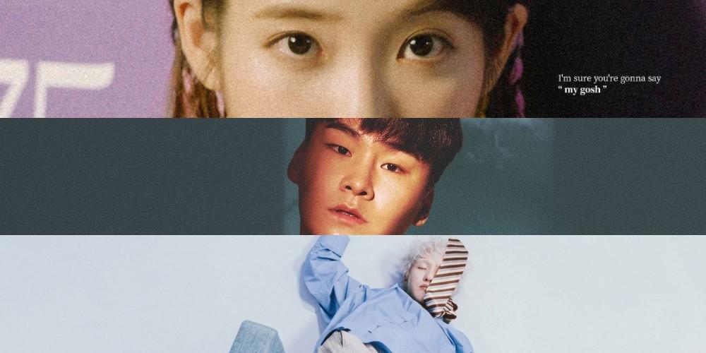 IU, Vibe, K.Will, Zion.T, Lim Chang Jung, PALOALTO, LOCO, Seulgi, Paul Kim, Yang Da Il