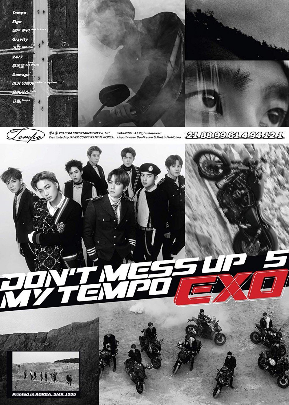 Which Exo Don T Mess Up My Tempo Album Version Do You Want Allkpop