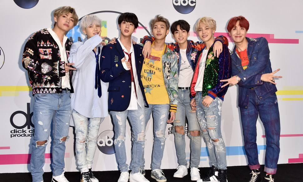 (Bangtan Boys) BTS, Jackson, MAMAMOO