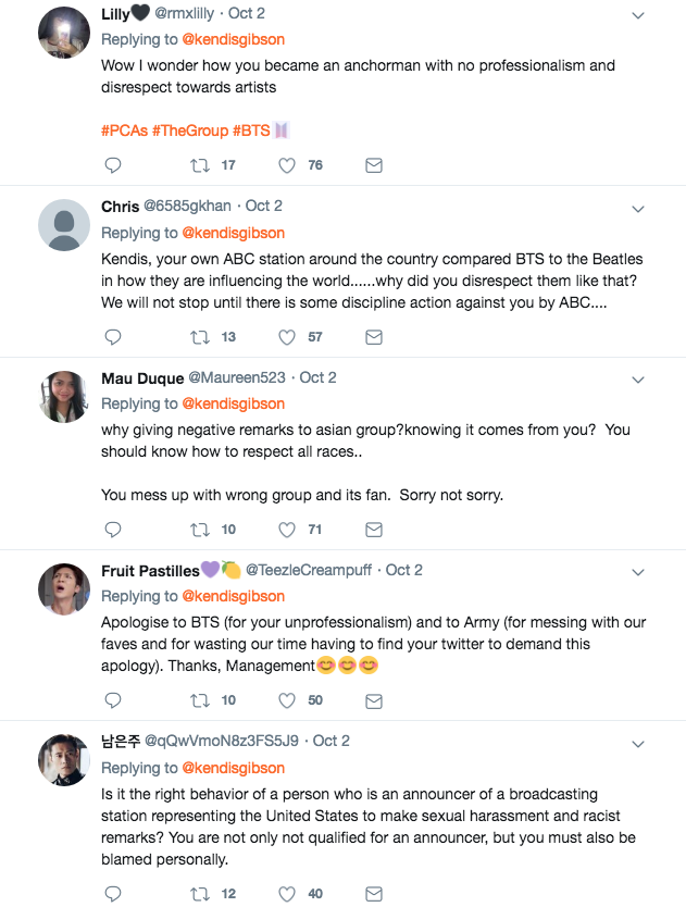 ABC news anchor ignores BTS fans demand for an apology, says