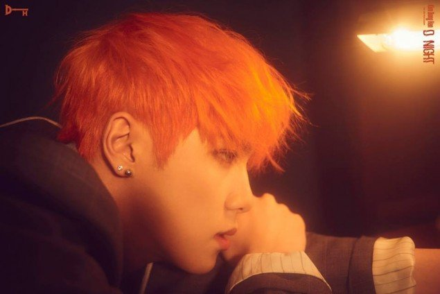 Kim Dong Han Turns Into A Tough Guy With Bright Orange
