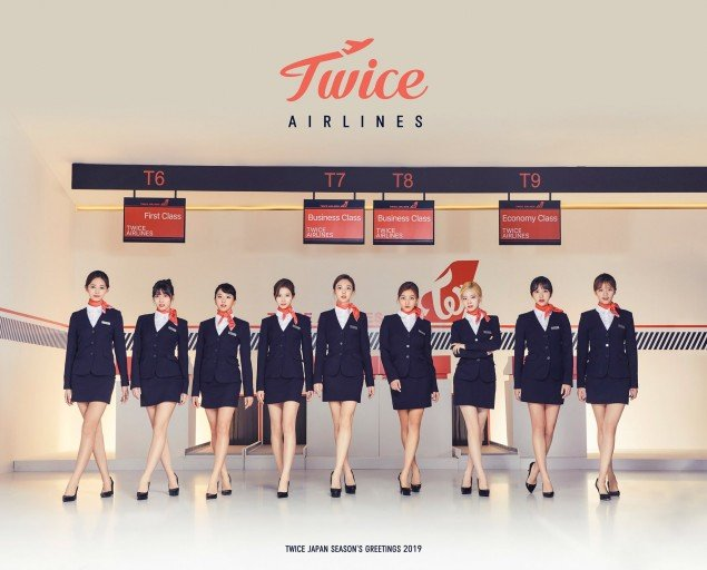 Netizens show love for TWICE's flight attendant concept in