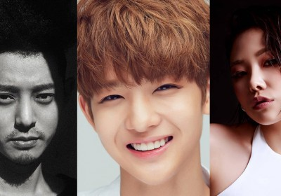Junjin, Juniel, Jung Joon Young, Kim Kyu Jong, Kim Hyung Jun, Younha, Cheetah, Bae Jin Young, Good Day, Drug Restaurant