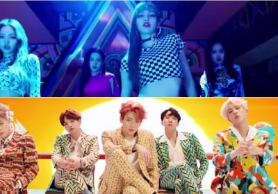 Psy, (Bangtan Boys) BTS, TWICE, Black Pink