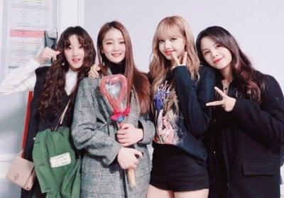 CLC, Sorn, Black Pink, Lisa, (G)I-DLE, Yuqi, Minnie