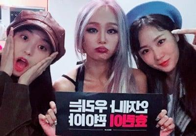 SISTAR, Hyorin, Bora, Soyu