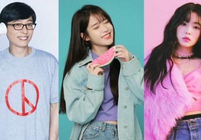 IU, Yoo Jae Suk, Irene