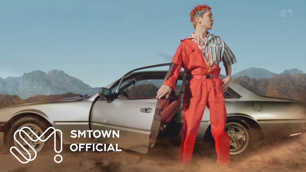 Imagini pentru SHINee's Key rides out to the desert in 'Forever Yours' feat. Soyou MV teaser 2