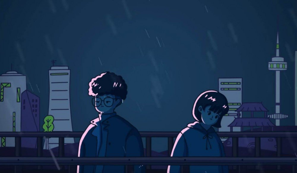 Imagini pentru Soyu & Mad Clown reveal rainy animated MV for 'When it Rains'