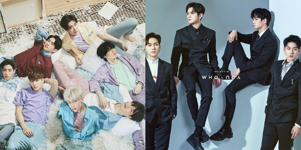 NU'EST W and GOT7's albums newly certified Platinum by Gaon's Album Sale certification