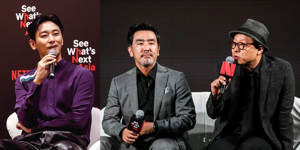 Actors of historical zombie series 'Kingdom' talk about the