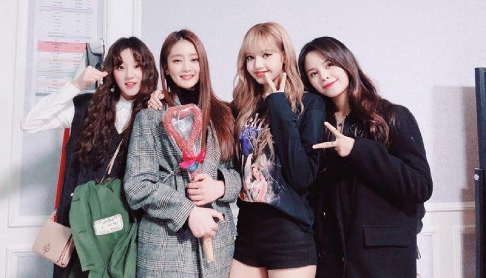 CLC, Sorn, BLACKPINK, Lisa, (G)I-DLE, Yuqi, Minnie
