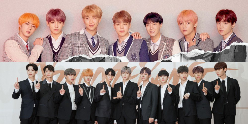 wanna one members talk about their friendship with bts allkpop