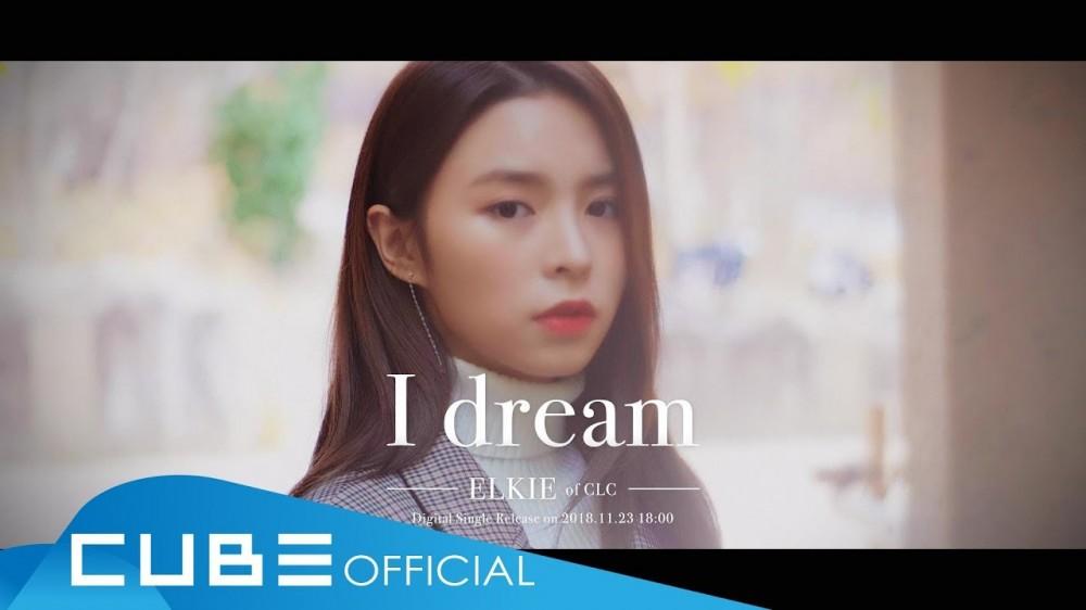 Imagini pentru CLC's Elkie walks a fall road in 'I dream' MV teaser