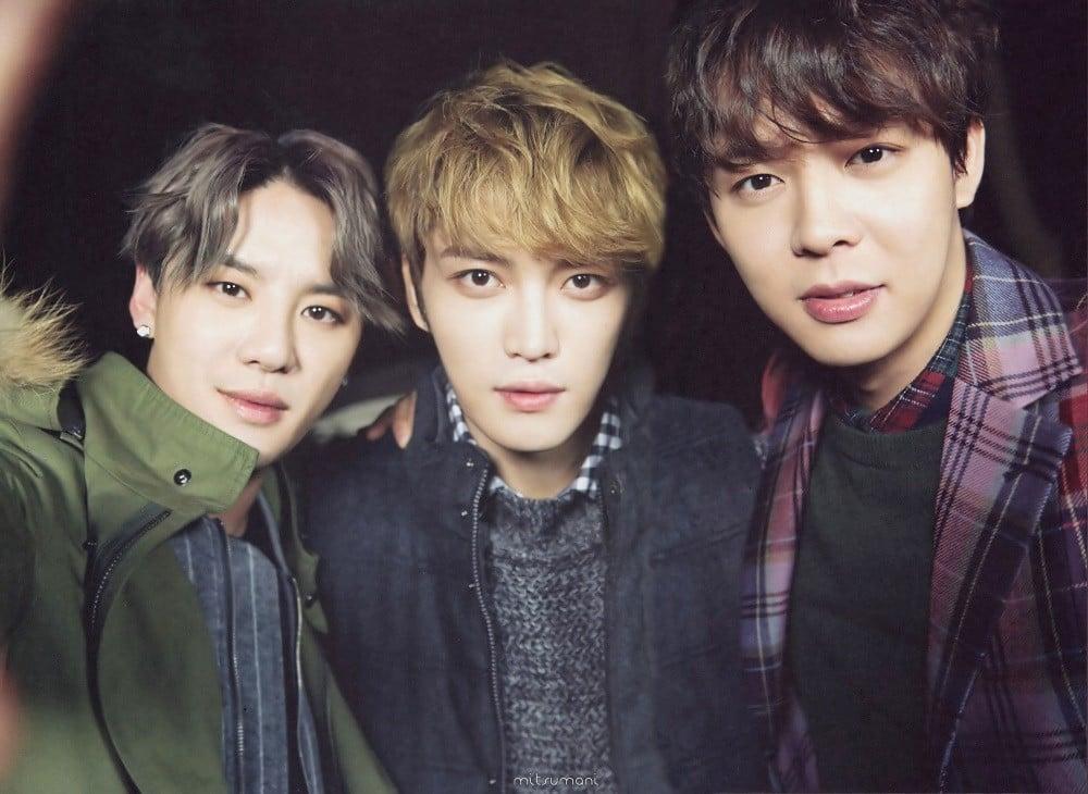 JYJ's Jaejoong, Yoochun, and Junsu open personal YouTube ...