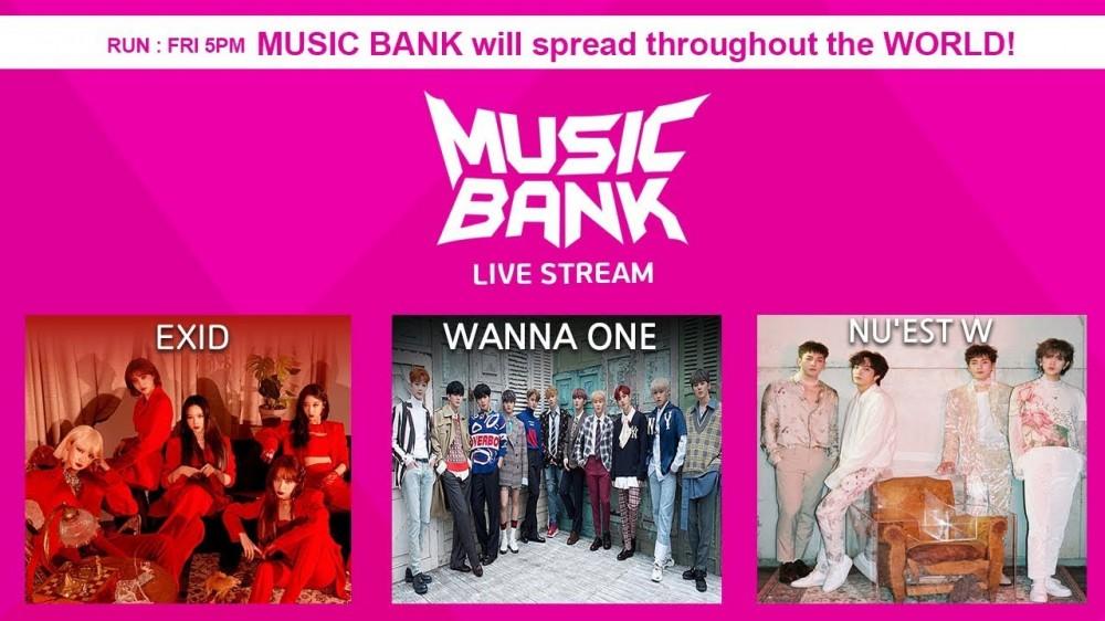 Watch Music Bank Live Allkpop