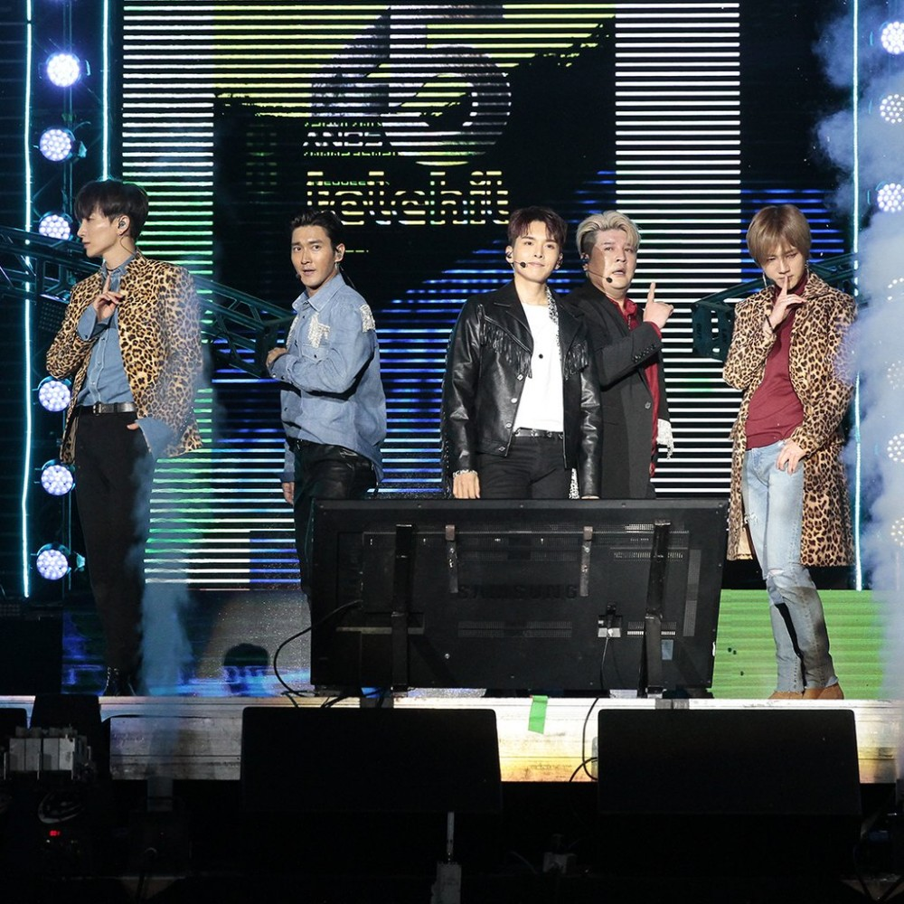 Super Junior, Leeteuk, Shindong, Siwon, Ryeowook, Yesung