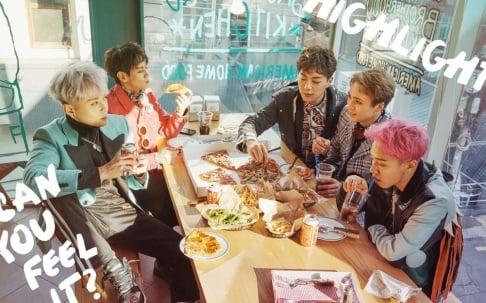 Highlight, Dongwoon, Doojoon, Junhyung, Kikwang, Yoseob