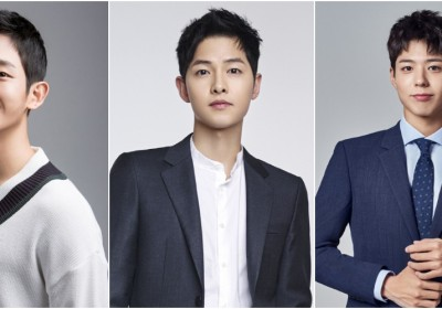Song Joong Ki , Park Bo Gum, Jung Hae In