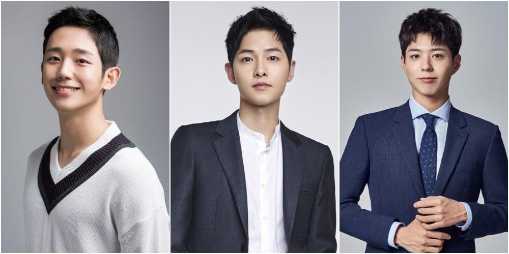 Song Joong Ki , Park Bo Gum, Jung Hae In