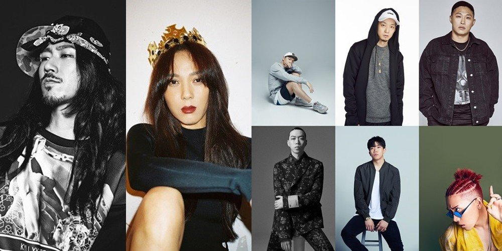 The Quiett, Tiger JK, Yoon Mi Rae, Swings, PALOALTO, BewhY, Changmo, Nafla