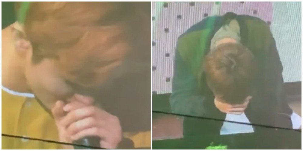 NCT Dream members tear up at Mark's last performance with