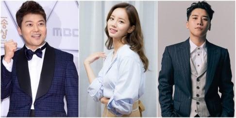 Seungri, Hyeri, Jun Hyun Moo