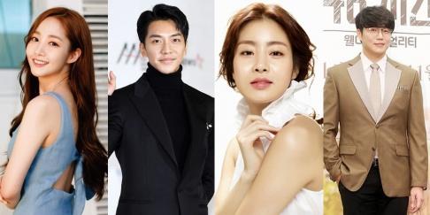 Kang So Ra, Lee Seung Gi, Park Min Young, Sung Si Kyung