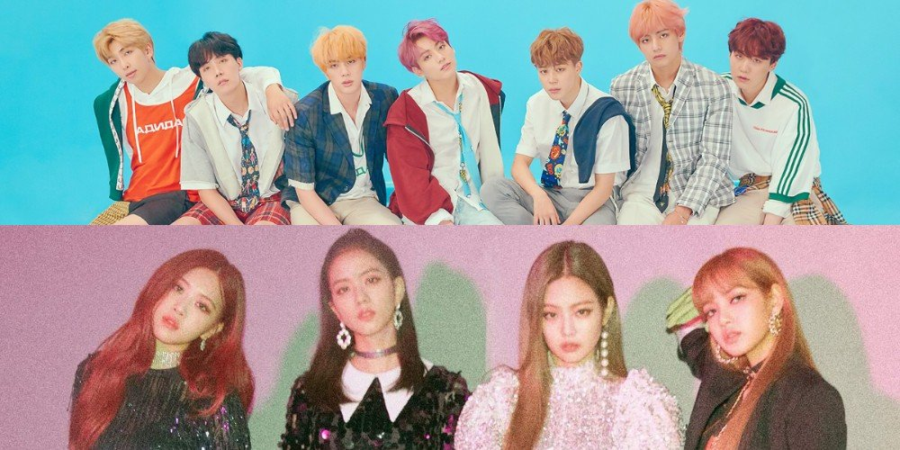 BTS and Black Pink are the only K-pop acts listed on the New