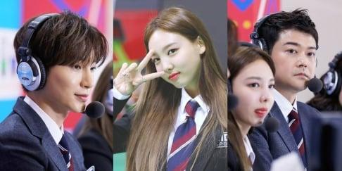 Yura, Jun Hyun Moo, Kim Shin Young, Leeteuk, Shindong, TWICE
