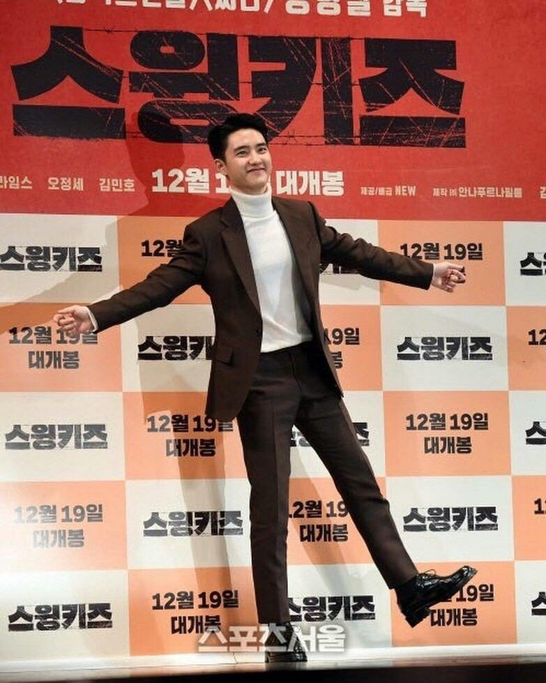 Do Kyung Soo shows tears watching 'Swing Kids'…says he is growing along with the movie