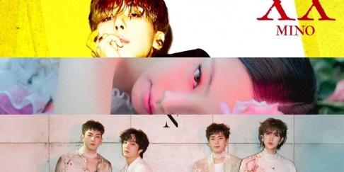 Jennie, IU, Kim Dong Ryul, K.Will, MAMAMOO, NU