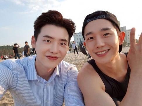 Jung Hae In, Lee Jong Suk