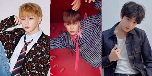 Jungkook, Jimin, Kang Daniel